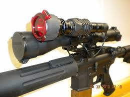 Coyote Hunting Lights New Night Hunting Set Up For My Ar The Leading Glock Forum And