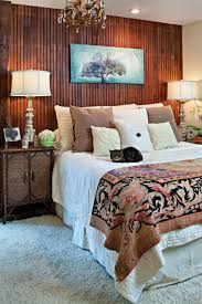interior lovable bedroom decoration using solid cherry teak wood