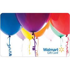 balloon gift balloons gift card walmart