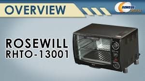 Broiler Pan For Toaster Oven Rosewill Rhto 13001 6 Slice Black Toaster Oven Broiler With Drip