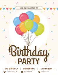 free birthday invitation templates for word free party invitation
