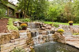 Backyard Landscaping Ideas With Rocks 50 Pictures Of Backyard Garden Waterfalls Ideas U0026 Designs