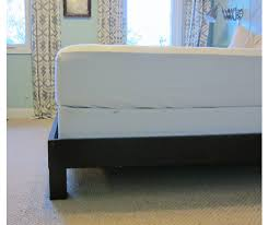 How To Make A Cheap Platform Bed Frame by How To Convert A Platform Bed For A Box Spring U2014 Little House Big City