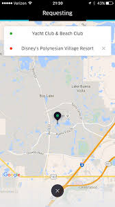 Disney World Monorail Map by How To Use Uber And Lyft At Walt Disney World Resort