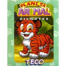 Popular Livro - Planeta Animal Filhotes - Teco - Infantil - de 4 a 10 anos  #GT77