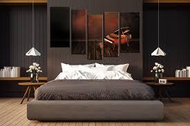 music wall decor 5 piece photo canvas piano wall art music multi panel canvas