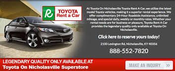 toyota cars for lease toyota rental