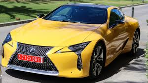 lexus yellow lexus lc500 review in pictures alphr