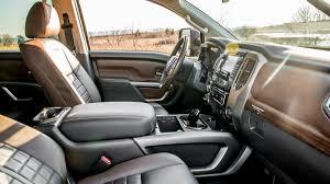 nissan titan interior 2016 2016 nissan titan xd platinum reserve cummins diesel pickup review