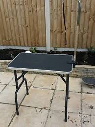 used dog grooming table hydraulic dog grooming table 125 00 picclick uk