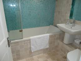 Beige Tile Bathroom Ideas Colors Simple Blue And Beige Bathroom Ideas Portrait Shape Four Wall