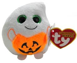 amazon com ty halloweenie beanie treatsie ghost toys u0026 games