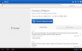 frontiers of physics android apps on google play