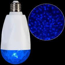 lightshow led projection standard light bulb kaleidoscope blue set