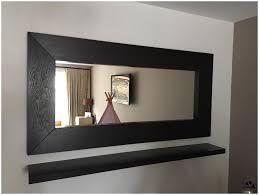 entry mirror with floating shelf ikea ekby alex shelf as floating
