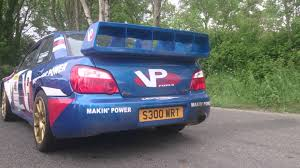 subaru wrc 2007 launch control subaru impreza wrc s9 pure sound youtube