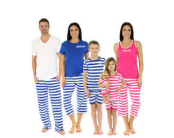 embroidered family pajamas pajamas