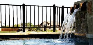 ornamental iron fence supply tx for fence gate