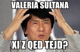 X I Meme - valeria sultana xi z qed tejd jackie chan meme generator