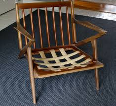 Where To Buy Chair Webbing How To Salvage A Cushionless Danish Modern Chair Modhomeec