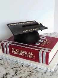 graduation cap u0026 book cake by enza sweet e cakesdecor