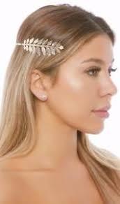 goddess headband metal goddess headband gold leaf laurel crown costume