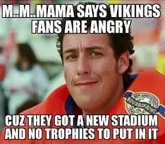 Vikings Suck Meme - i fucking love it it s like the vikings rolled over and died we