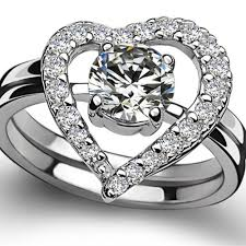 what is a bridal set ring wedding rings jewelers wedding rings heart shaped wedding