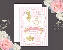 ballerina birthday invitations u2013 gangcraft net