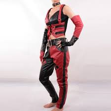 Deadpool Halloween Costume Party Aliexpress Buy Harley Quinn Costume Batman Arkham