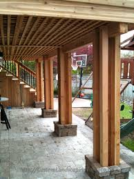 ideas for under deck modern concept patio and deck designs with