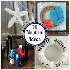 Diy Nautical Decor 10 Nautical Ideas Fun Home Things