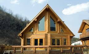 large log home floor plans log mobile homes with lofts chalet floor plan 1 880 sq ft