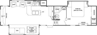 Forest River 5th Wheel Floor Plans 2011 Forest River Cedar Creek 36re Fifth Wheel Southaven Ms