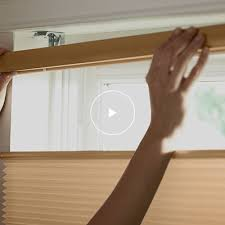 How To Cut A Blind To Size Window Treatments At The Home Depot