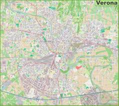 Maps Of Italy Detailed Map by Large Detailed Map Of Verona