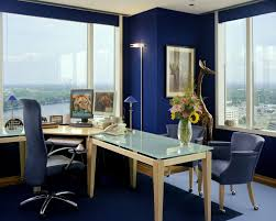living room home office workspace furniture blue dark colour home
