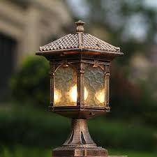 Outdoor Pillar Lights Outdoor Lighting Amusing Column Light Fixtures Outdoor Pillar
