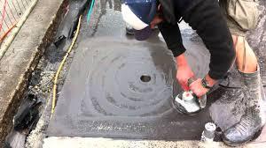 shower waterproof a concrete shower floor amazing cement shower