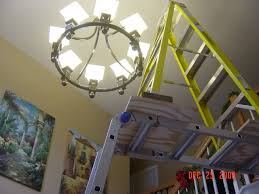 How High To Hang Chandelier Replacing Chandelier Entry Is 2 Stories Phone Painting