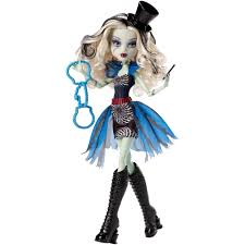 Halloween Monster High Doll Monster High Gloom Beach Doll Frankie Stein Walmart Com