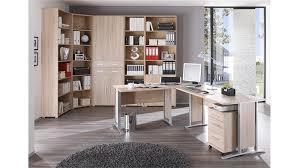 Schreibtisch Mit Regal Büro Set 2 Office Line Schreibtisch Regal Sonoma Eiche
