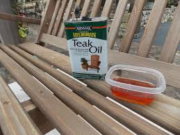 How To Refinish Teak Dining Table Preserving Our Cedar Porch Swing Minwax Blog