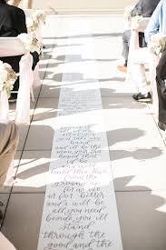 wedding aisle runners handlettered aisle runner wedding aisle runner calligraphy