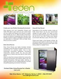 eden grow rooms by u s cooler company issuu