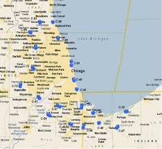Map Of Chicago Land Area by Nike Missiles Around Chicago Ipms U2013 Mckinstry Chapter