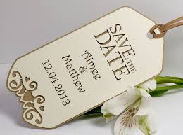 save the date luggage tags manilla personalised save the date luggage tags vintage heart