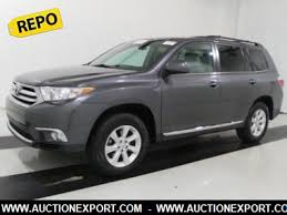 toyota highlander 2012 used used 2012 toyota highlander base suv 4 doors car for sale at