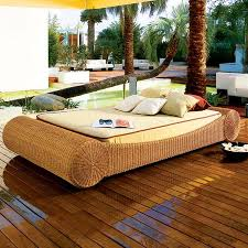 Outdoor Wicker Daybed The Calima Outdoor Wicker Daybed For Summer Snoozes