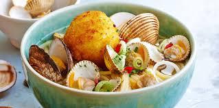 ramen aux fruits de mer facile recette sur cuisine actuelle